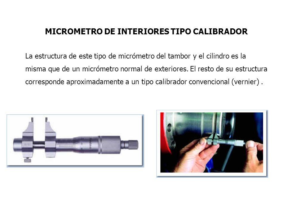 Micr metro de interiores ppt descargar - Micrometro de interiores ...