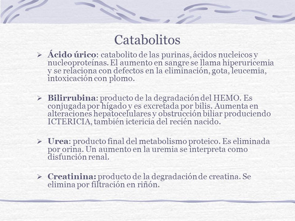 Catabolitos