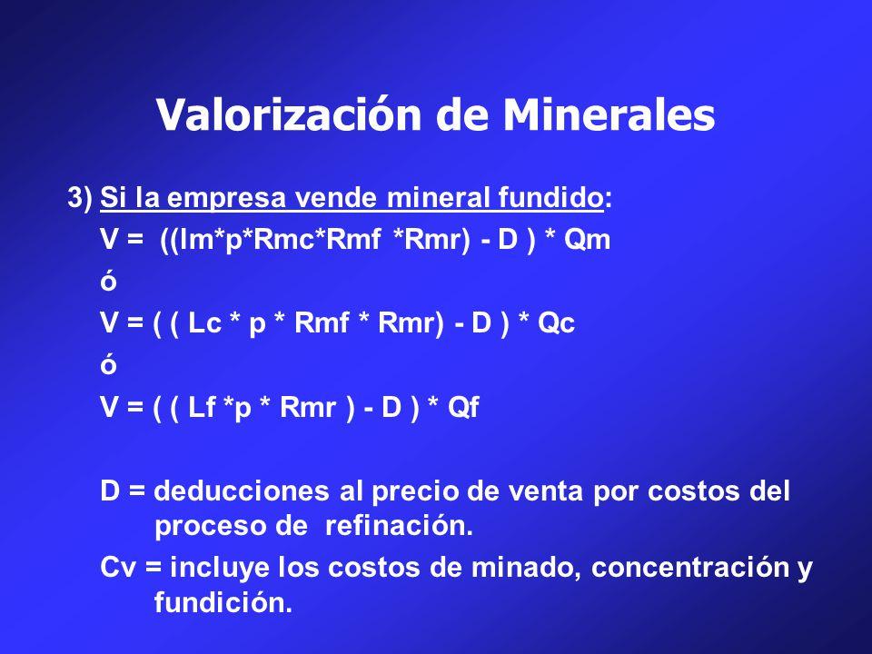 Valorización de Minerales