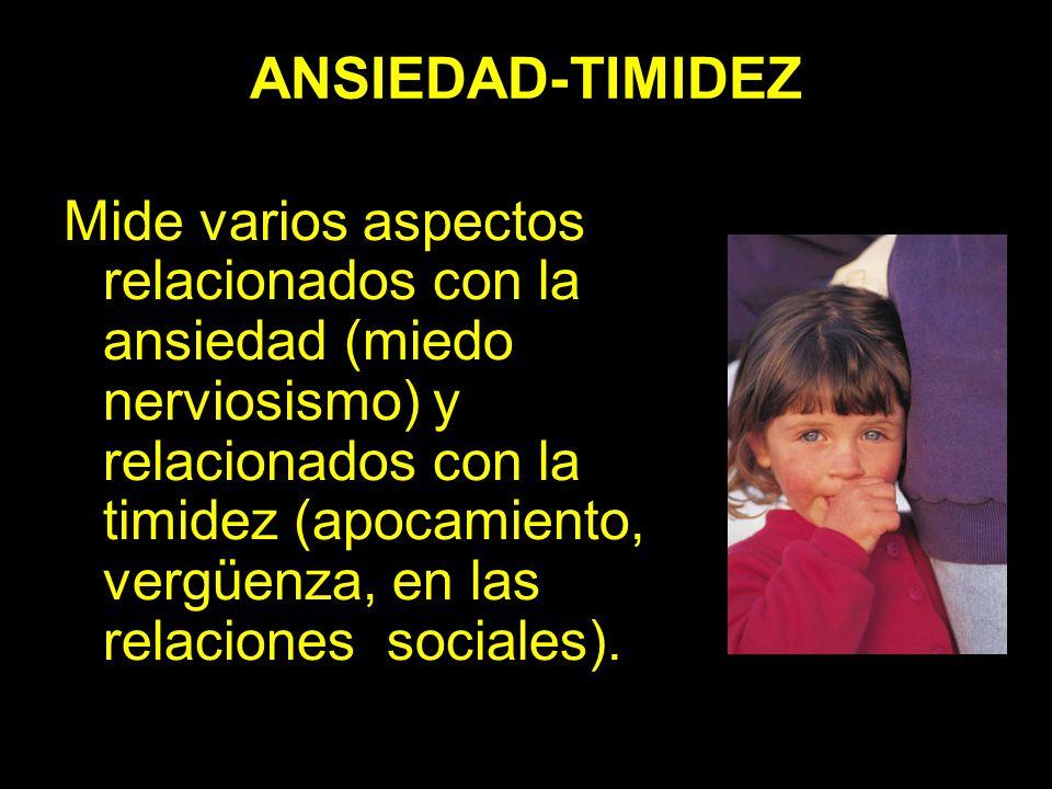 ANSIEDAD-TIMIDEZ