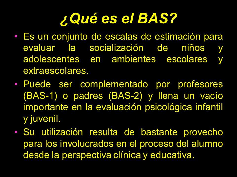¿Qué es el BAS