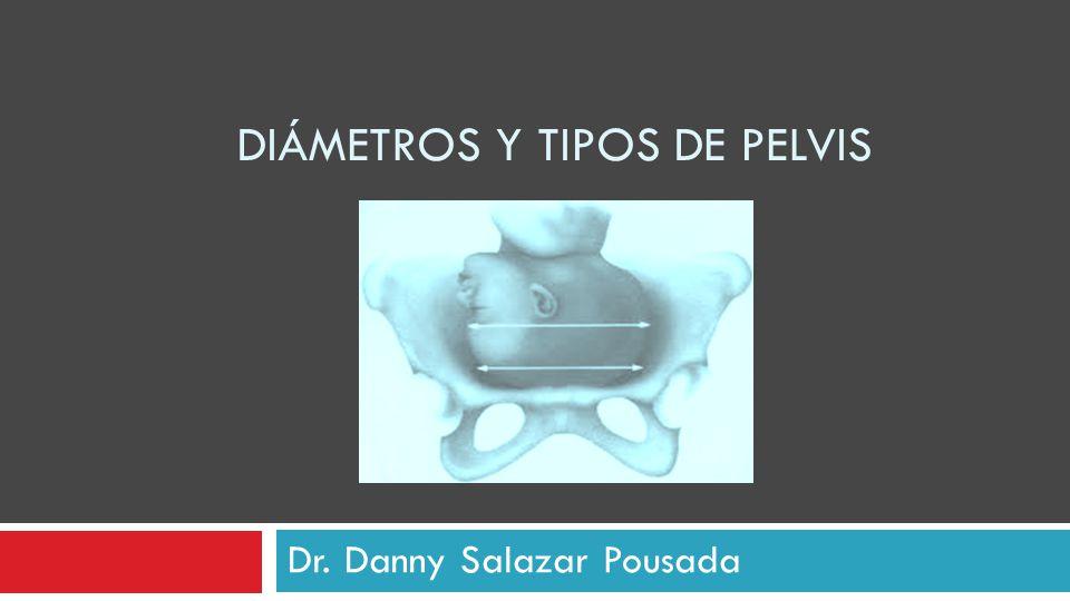 Diámetros y tipos de pelvis