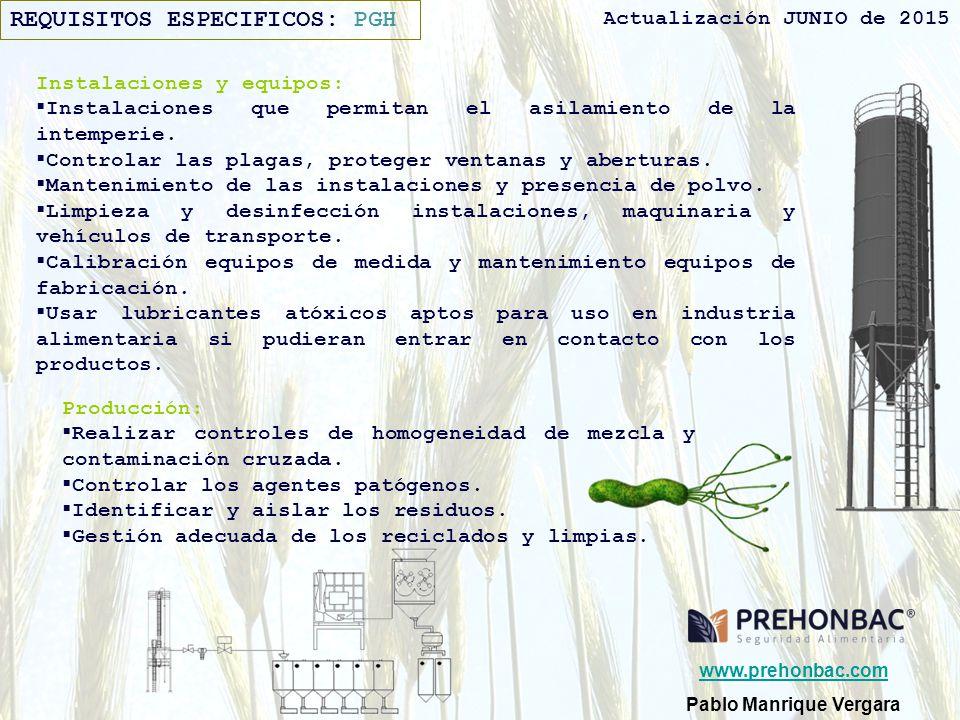 Pablo manrique vergara ppt descargar for Programa de limpieza y desinfeccion en industria alimentaria