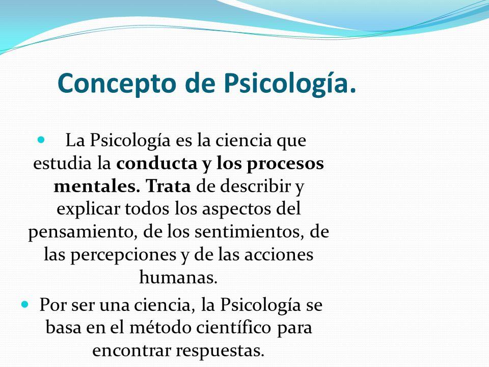 Concepto de psicolog a ppt descargar for Que es divan en psicologia