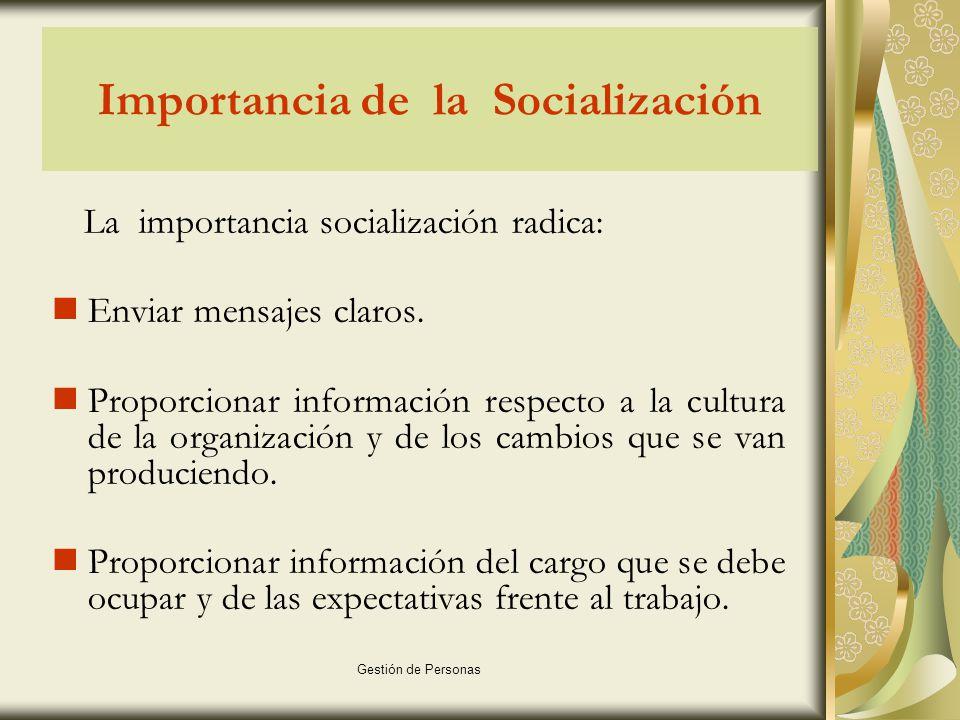 Importancia de la Socialización