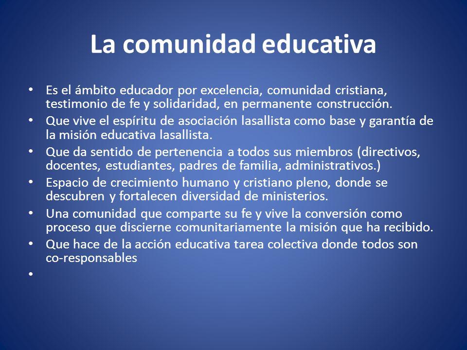 Modelo educativo lasallista ppt descargar for La accion educativa en el exterior