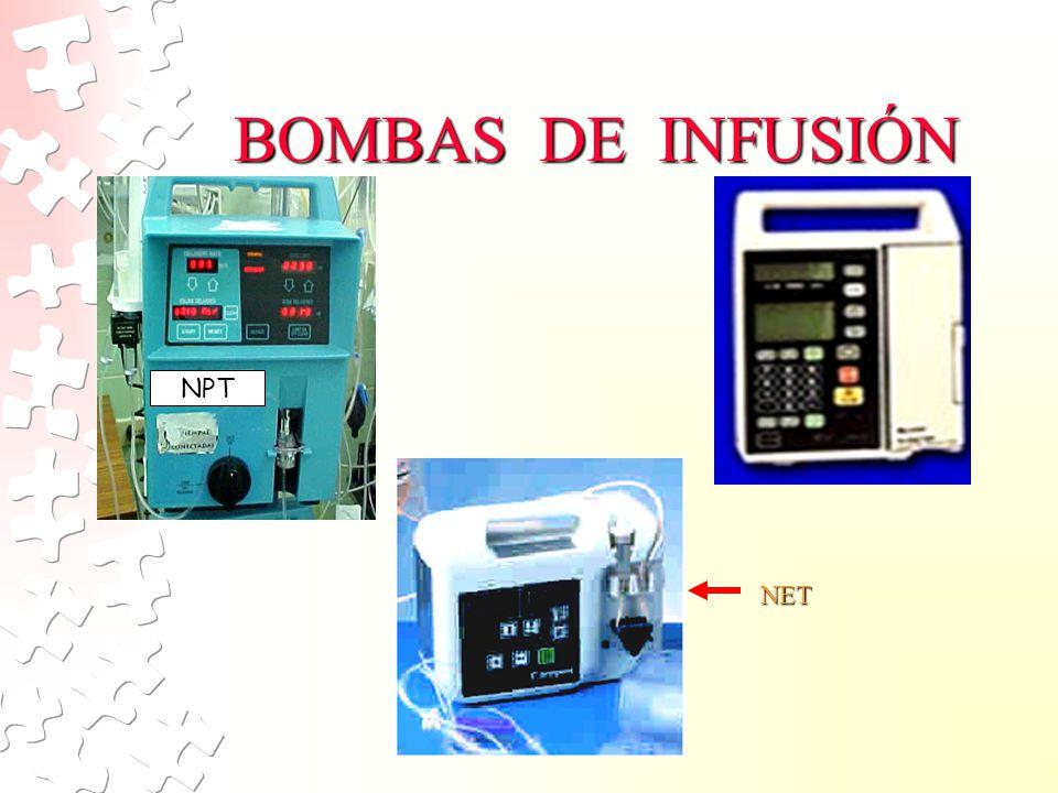 BOMBAS DE INFUSIÓN NPT NET