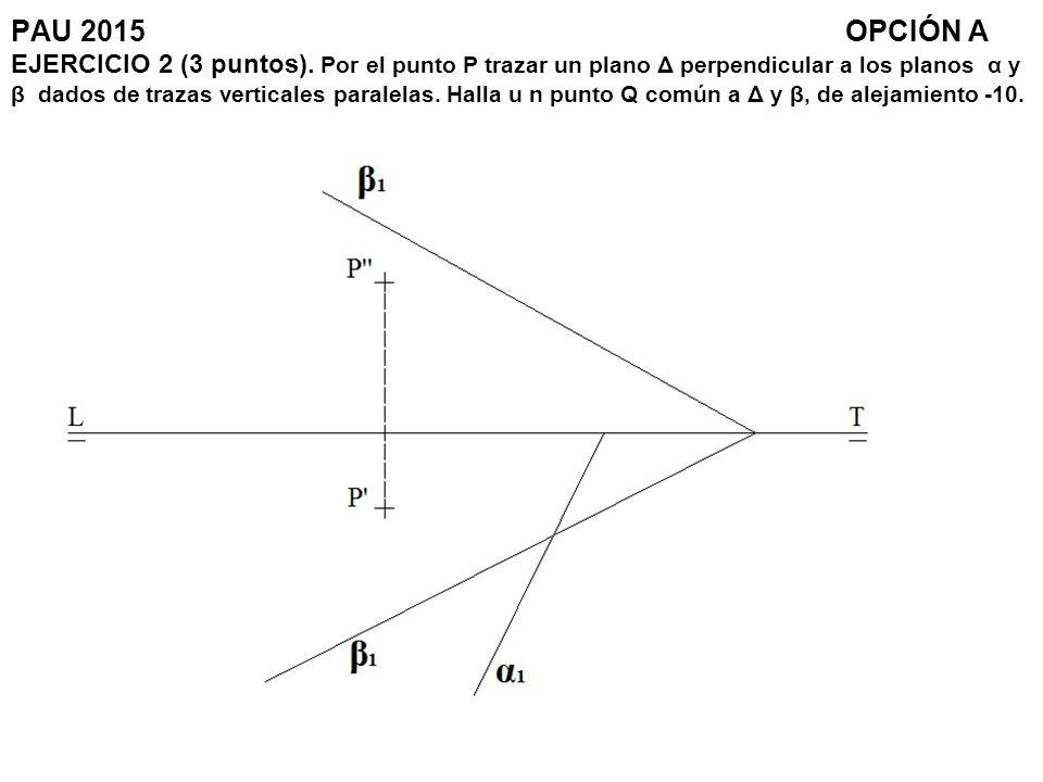 PAU 2015. OPCIÓN A EJERCICIO 2 (3 puntos)