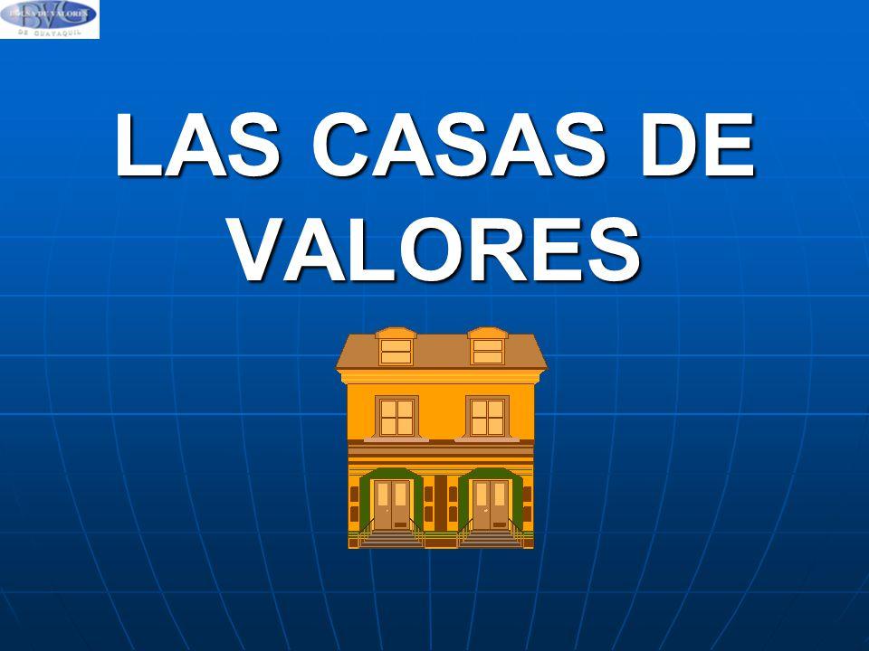 LAS CASAS DE VALORES