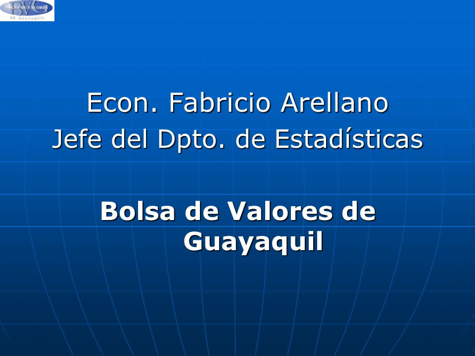 Bolsa de Valores de Guayaquil