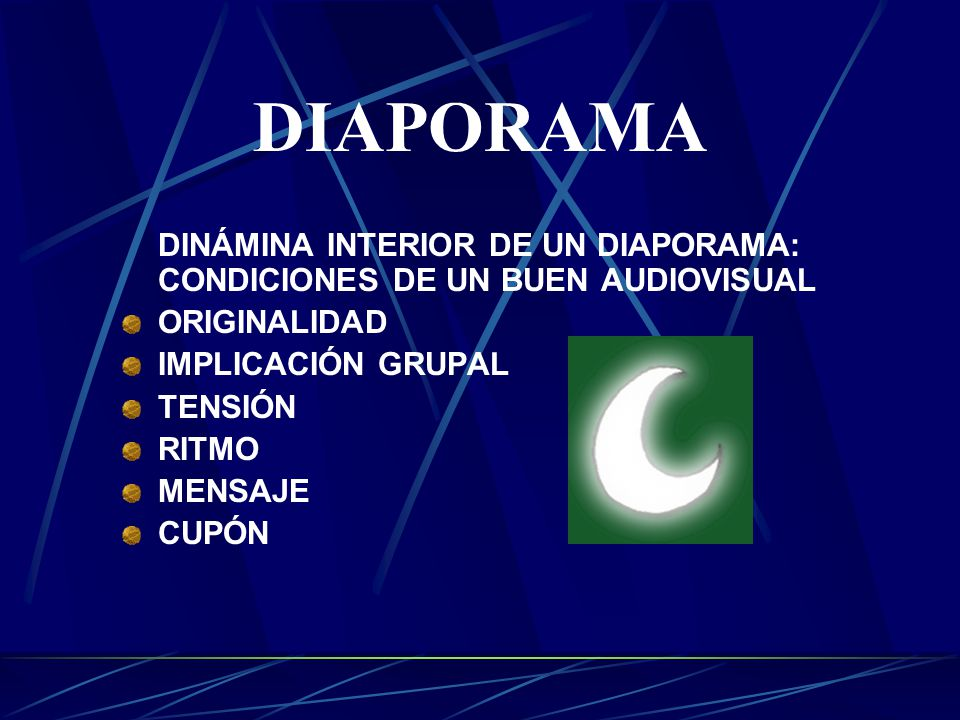 el diaporama imagen fija   medios audiovisuales   montajes audiovisuales      diaporama