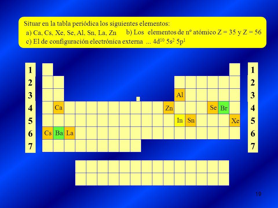 Fsica y qumica 1 bachillerato ppt descargar 1 2 3 4 5 6 7 situar en la tabla peridica los siguientes elementos urtaz Gallery