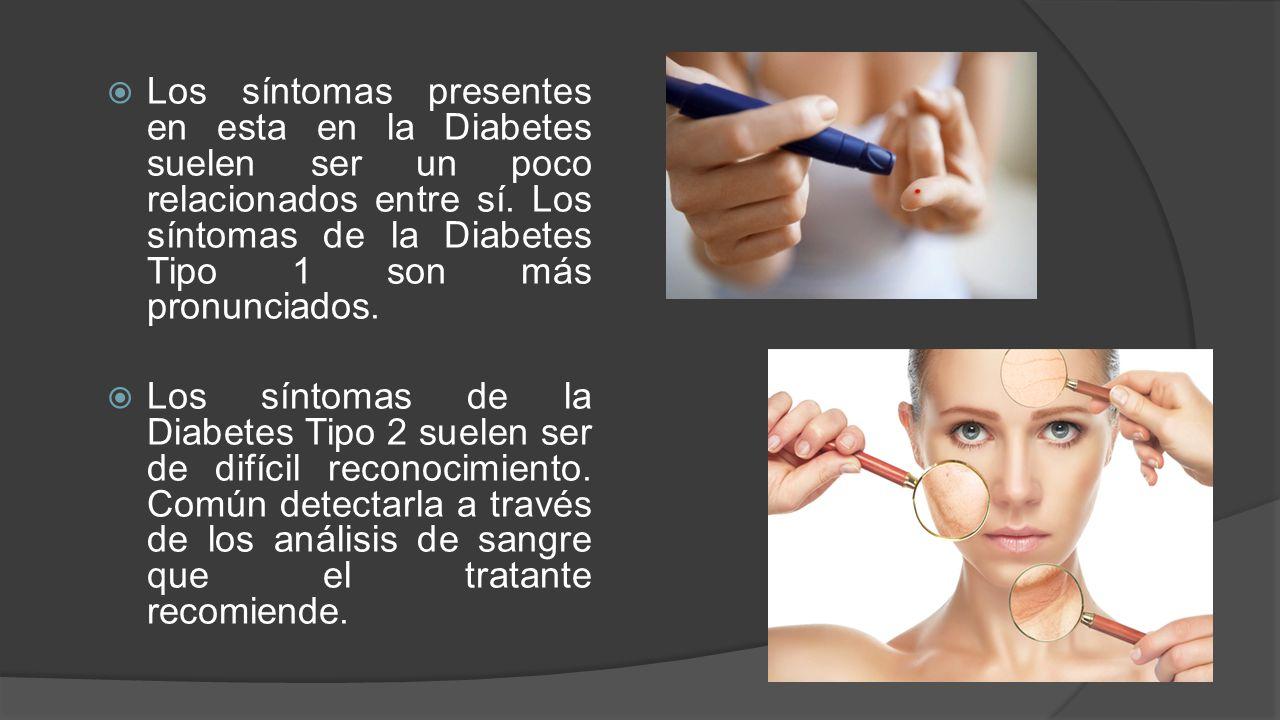 Diabetes tipo 1 y Diabetes tipo 2 - ppt descargar