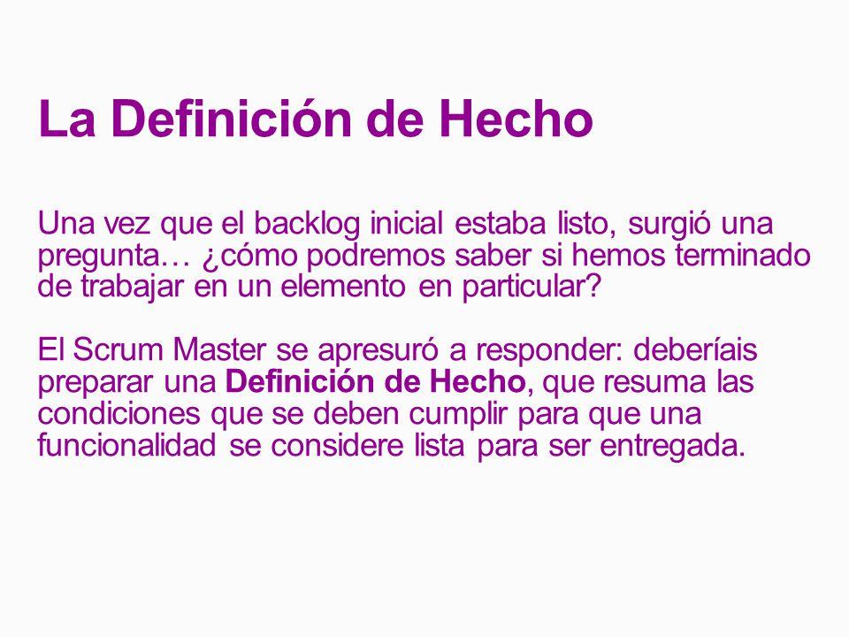 La Definición de Hecho