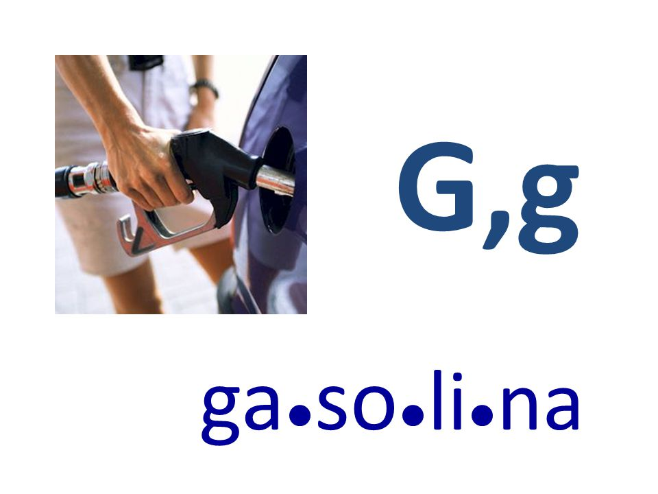 G,g ga●so●li●na