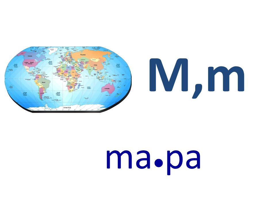 M,m ma●pa
