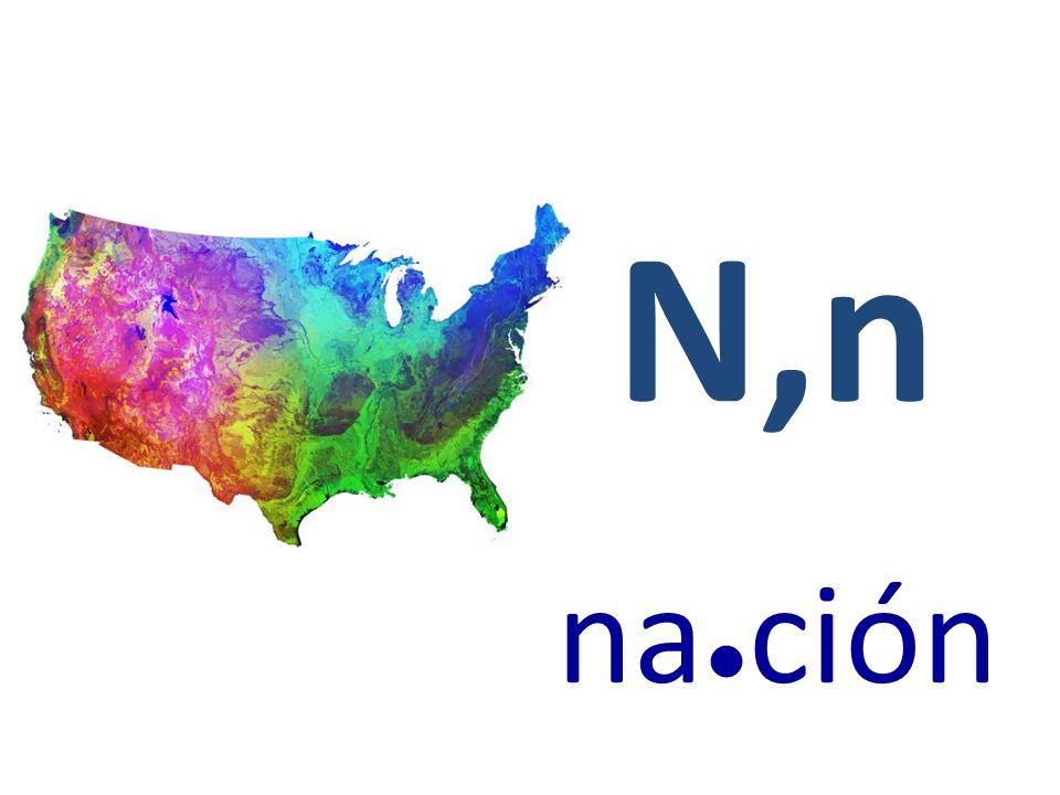 N,n na●ción