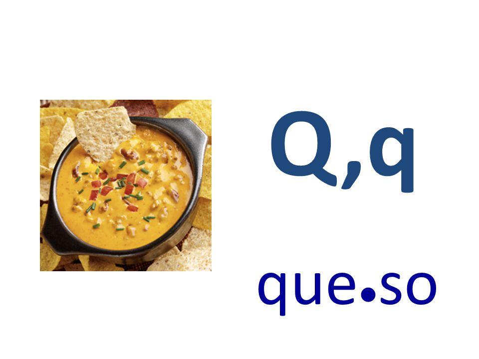 Q,q que●so
