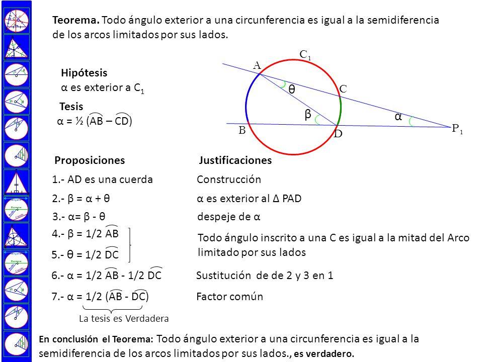 Ngulo inscrito en una circunferencia ppt descargar for Exterior a la circunferencia