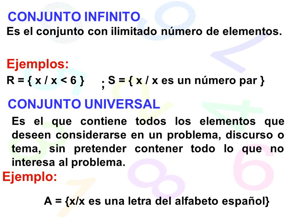Conjunto universal ejemplo unidad 2 ing robin anguizaca for Universal definicion