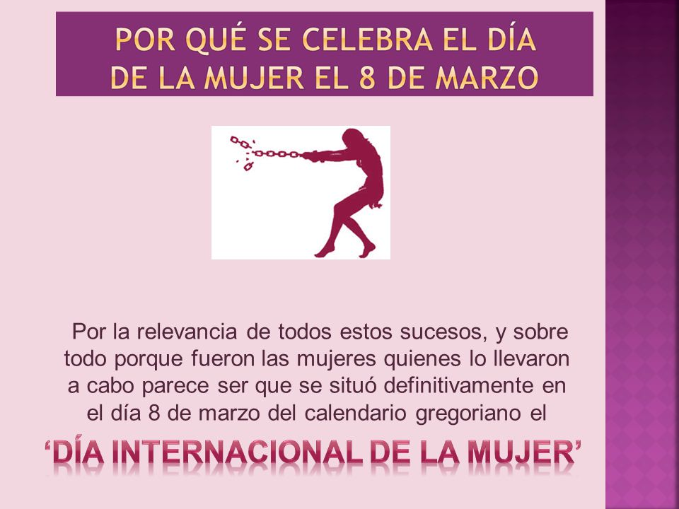 'Día Internacional de la Mujer'