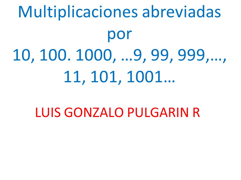 LUIS GONZALO PULGARIN R