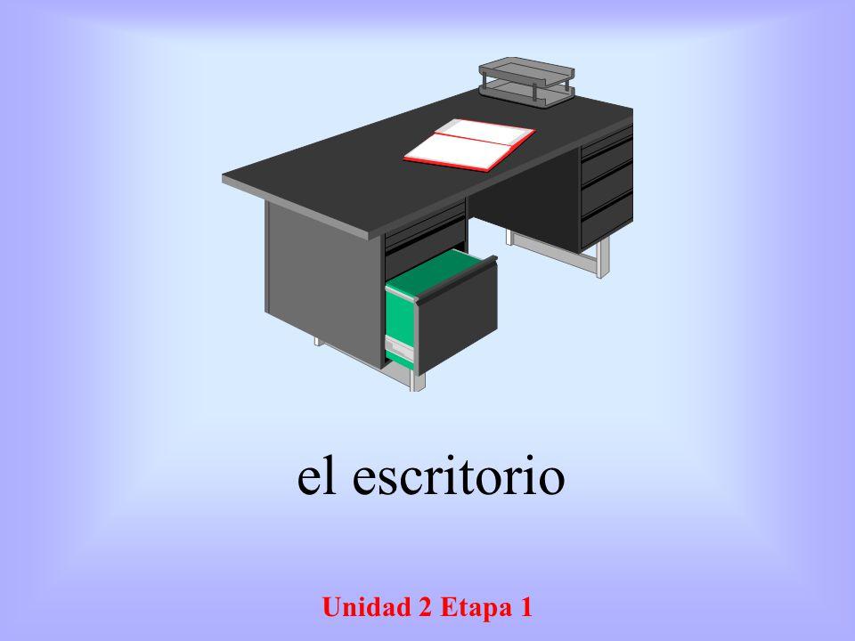 el escritorio Unidad 2 Etapa 1
