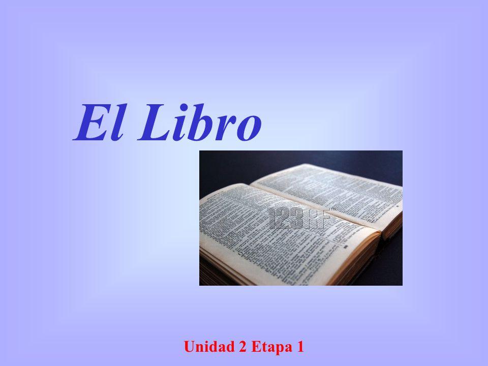 El Libro Unidad 2 Etapa 1