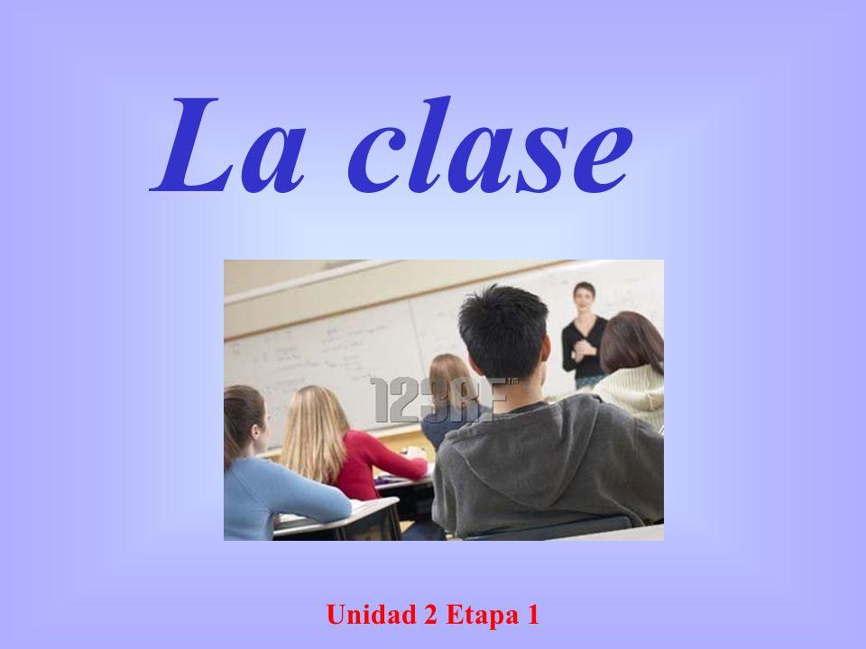 La clase Unidad 2 Etapa 1