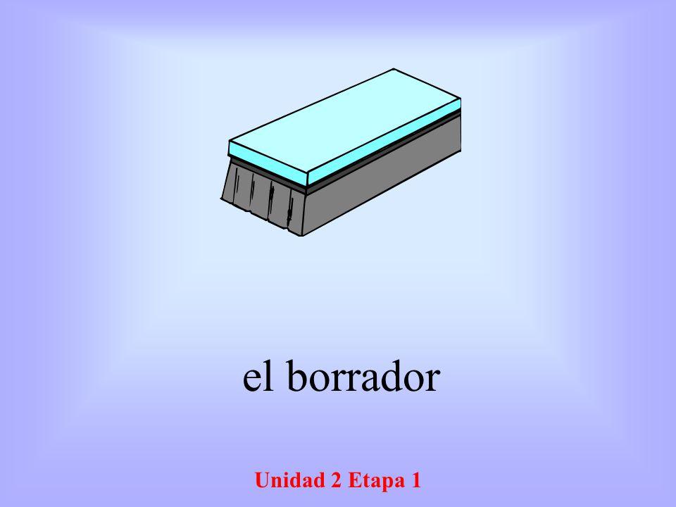 el borrador Unidad 2 Etapa 1