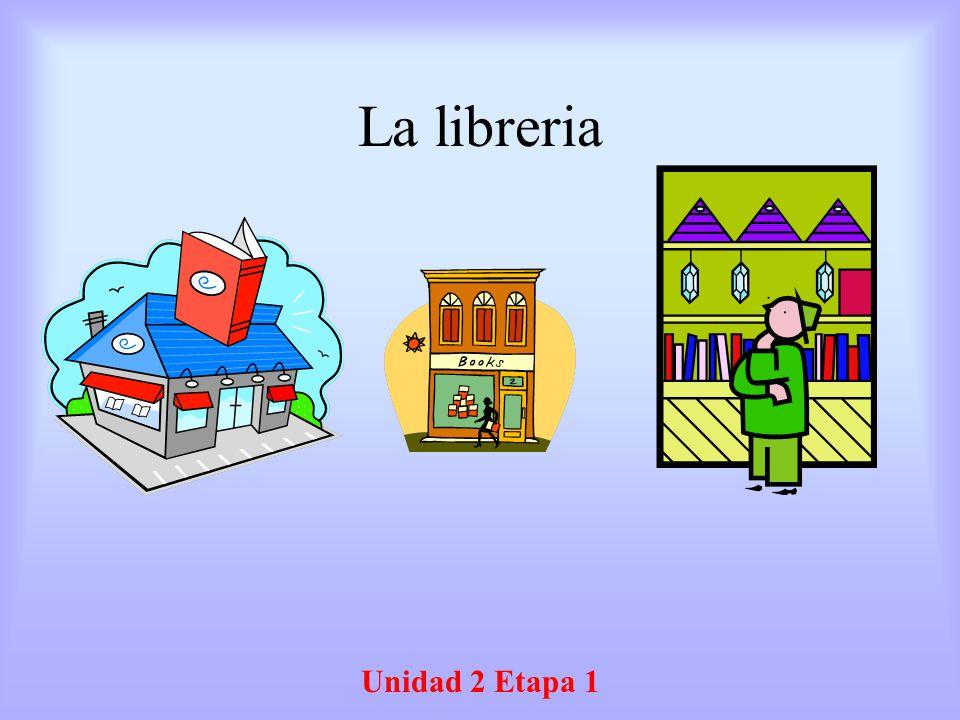 La libreria Unidad 2 Etapa 1