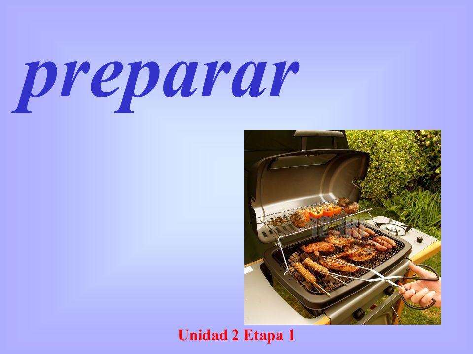 preparar Unidad 2 Etapa 1