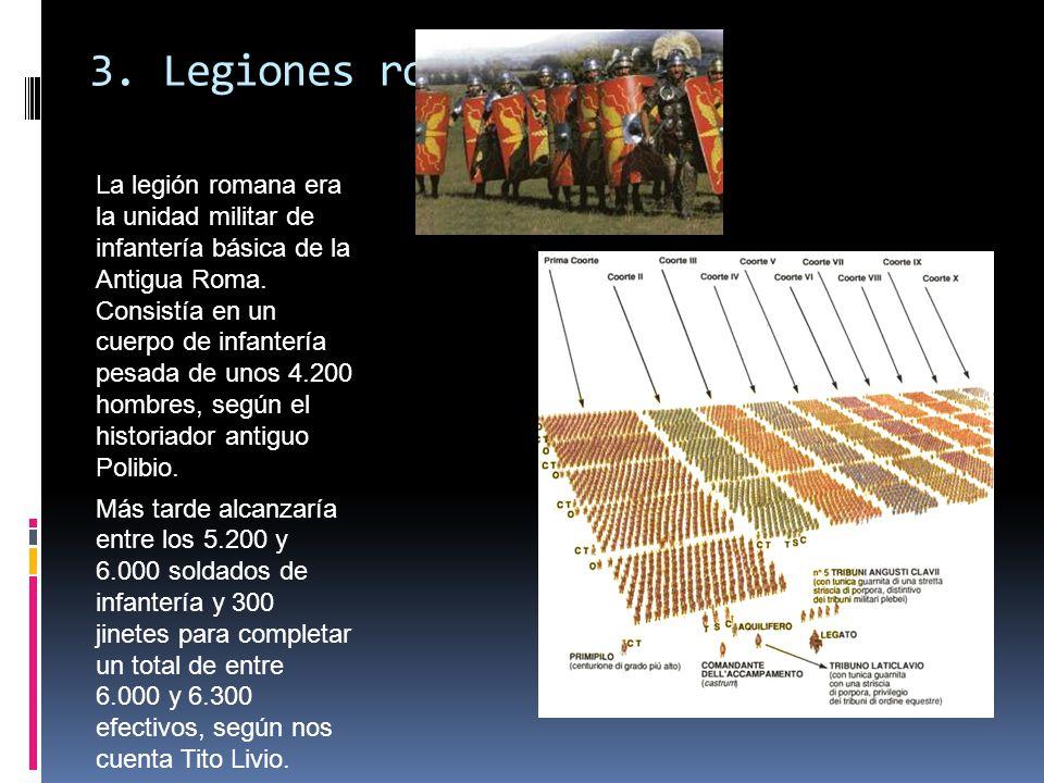 3. Legiones romanas