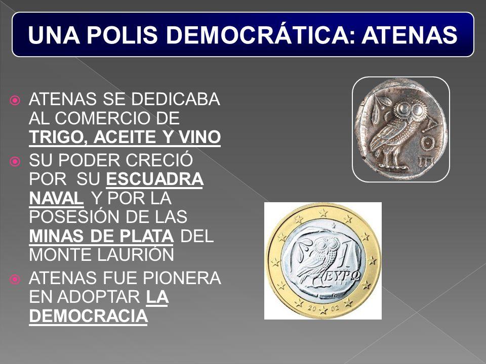 UNA POLIS DEMOCRÁTICA: ATENAS