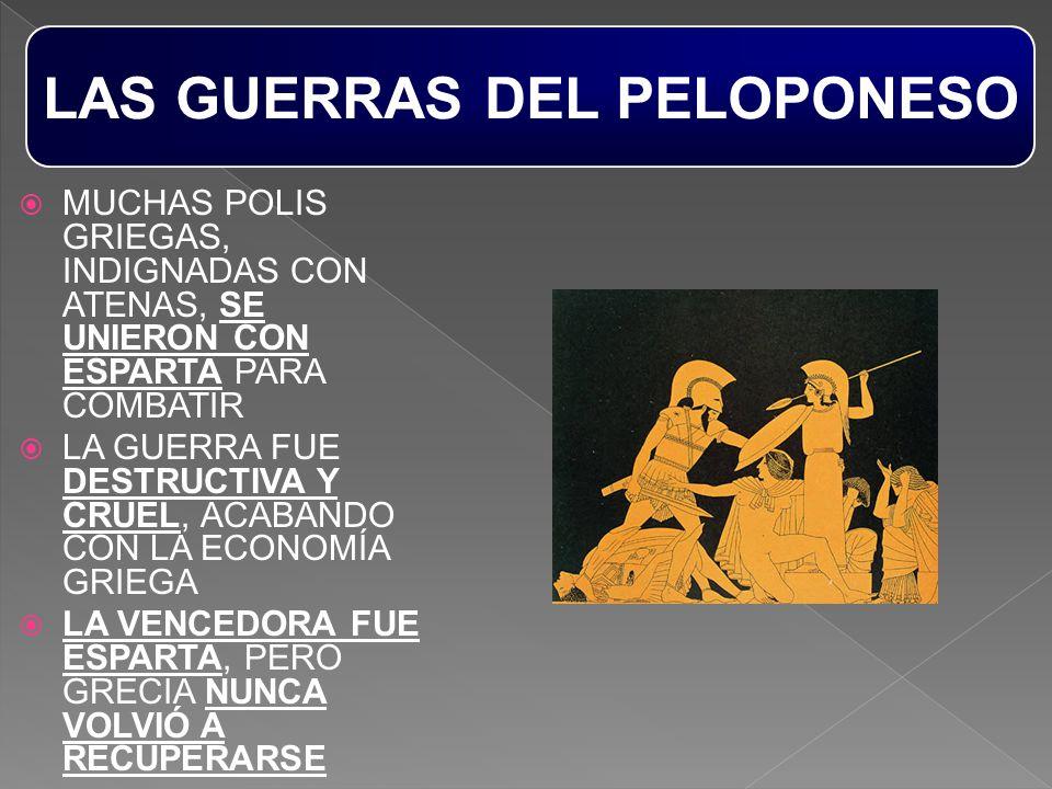 LAS GUERRAS DEL PELOPONESO