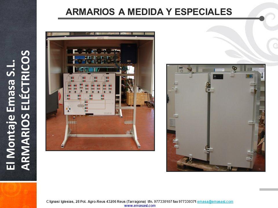 Presentaci n de el montaje emasa ppt video online descargar - Armarios a medida online ...