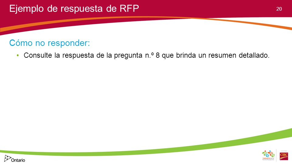 Taller sobre la solicitud de propuesta (RFP) de los Juegos ...