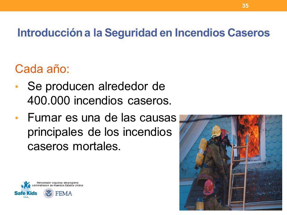 Introducción a la Seguridad en Incendios Caseros