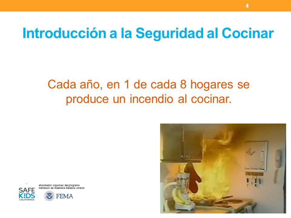 Introducción a la Seguridad al Cocinar