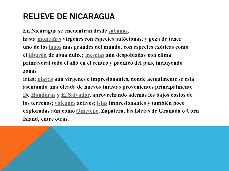 Lotes En Playas Virgenes Entre Isla Aguada Y Sabancuy: Geografía Turística De Nicaragua Ubicación De Nicaragua