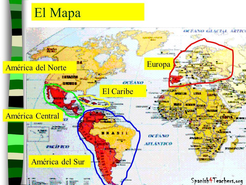 Los pases hispanohablantes Las capitales y los continentes  ppt