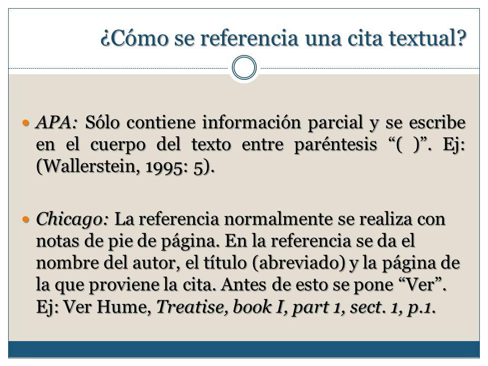 Citaci n y referencias bibliogr ficas ppt video online - Como instalar una bisagra de 180 grados ...