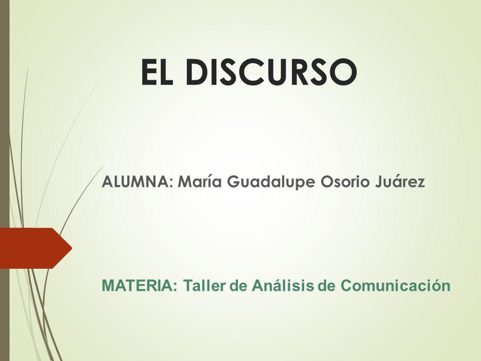 ALUMNA: María Guadalupe Osorio Juárez