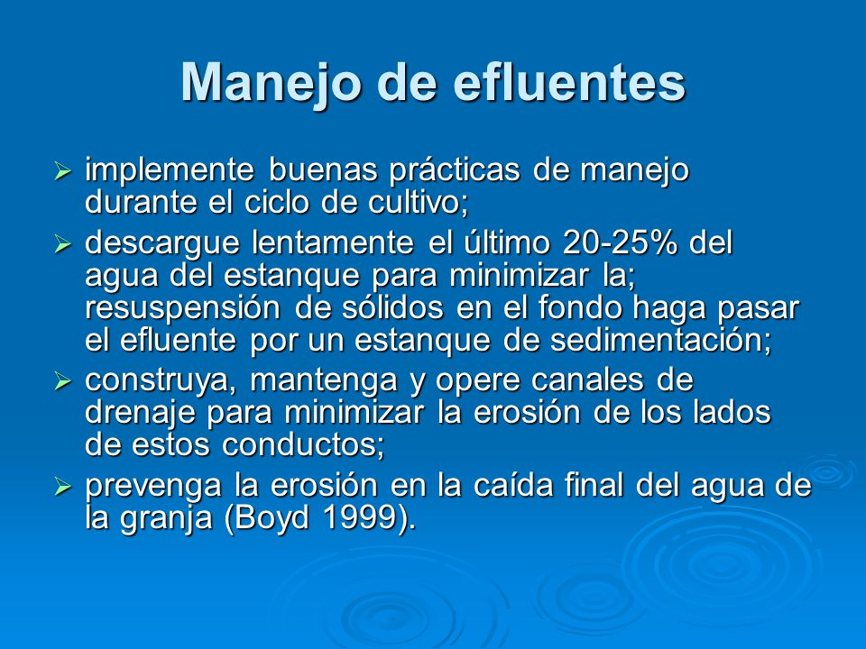 Maestria en acuicultura y gestion ambiental ppt descargar for Diferencia entre tanque y estanque