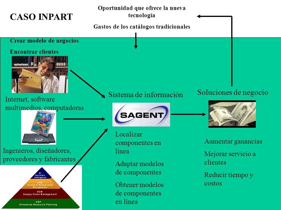 CASO INPART Soluciones de negocio Sistema de información