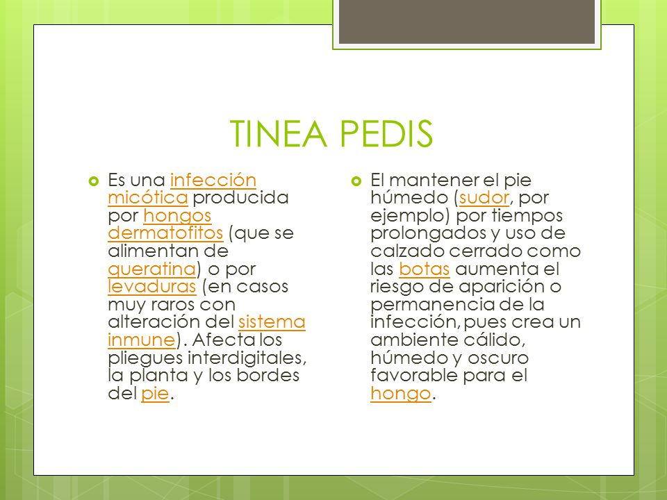 TINEA PEDIS