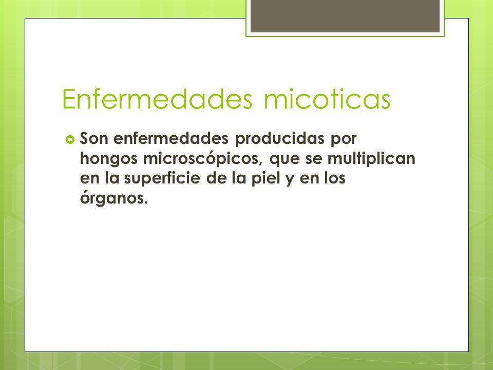 Enfermedades micoticas