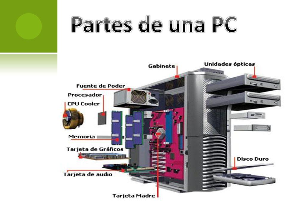 Partes internas del pc ppt descargar for Elementos de hardware