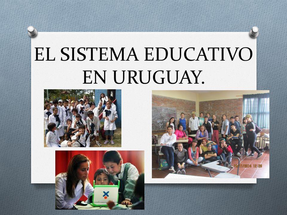 Resultado de imagen para SISTEMA EDUCATIVO DE URUGUAY