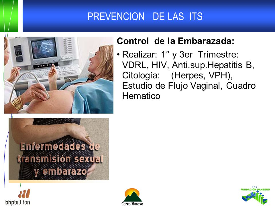 PREVENCION DE LAS ITS Control de la Embarazada: